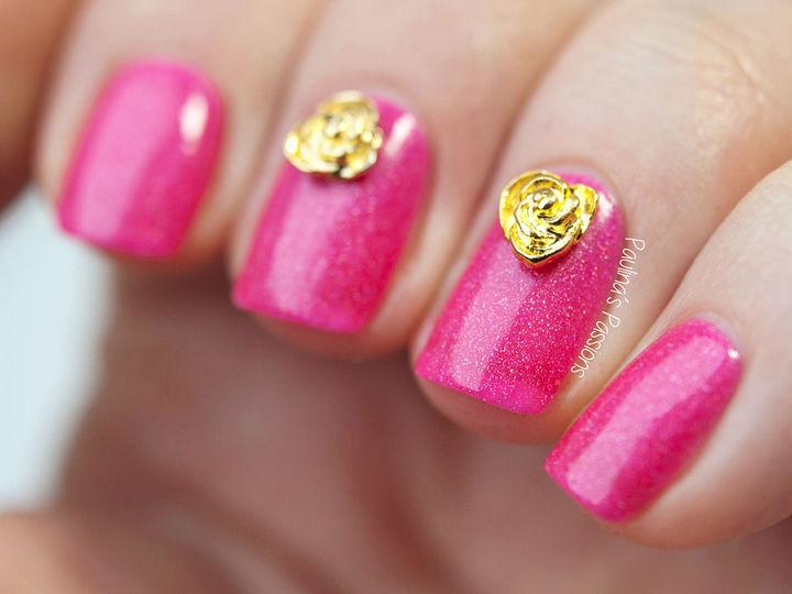 Lookin' pretty in pink.
