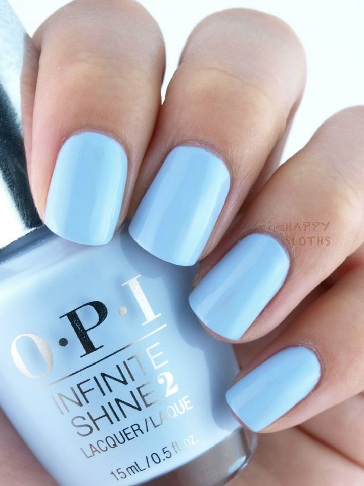 18 Ice Blue Nails - Icy blues.