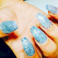18 Ice Blue Nails That Will Bring out the Snow Queen in ...