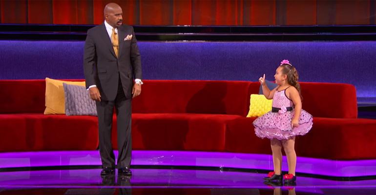 Little Dancer Performs Respect on Little Big Shots.
