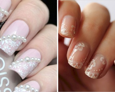 18 Wedding Nails Perfect for the Big Day.