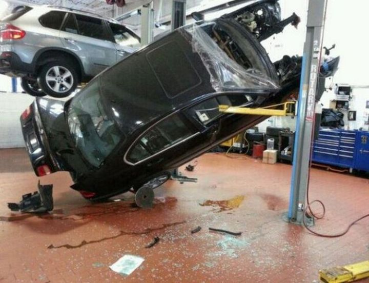 19 People Having a Bad Day - That brake job turned into something way more expensive.