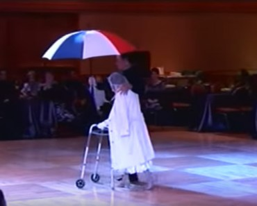 94-Year-Old Senior Ballroom Dances.
