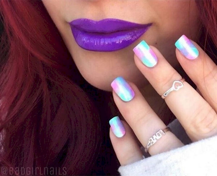 18 Spring Nails - Flaunt the shades of spring with these pastels.