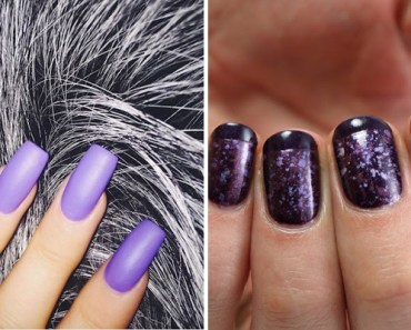 19 Purple Nails That Will Make You Look and Feel Like Royalty.