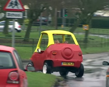 Adult-Sized Little Tikes Car Can Zoom up to 70 MPH!