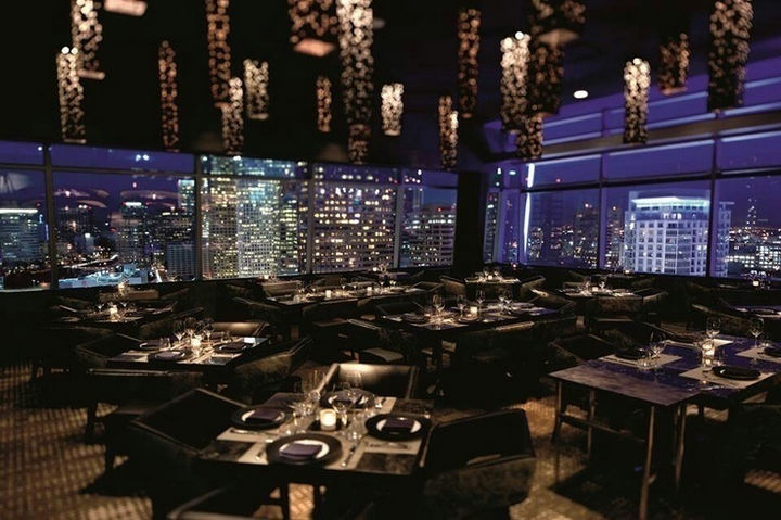 39 Amazing Restaurants With a View - WP24 by Wolfgang Puck in Los Angeles, California, USA.