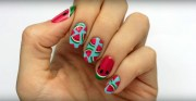 create cute watermelon nails