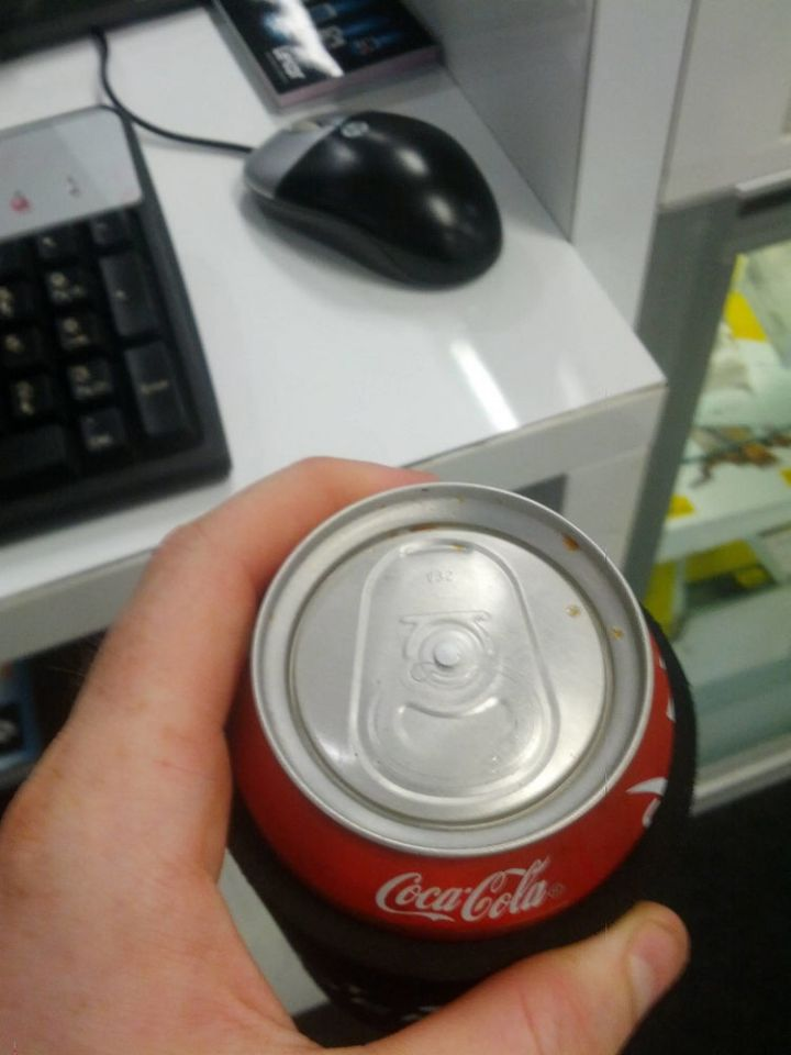 28 People Having a Bad Day - All he wanted was to relax with acold drink after a bad day at work...
