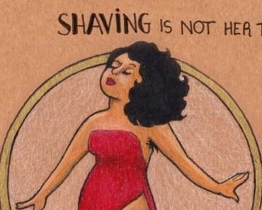Drawings by Brazilian Artist Carol Rossetti Aims to Inspire Women.