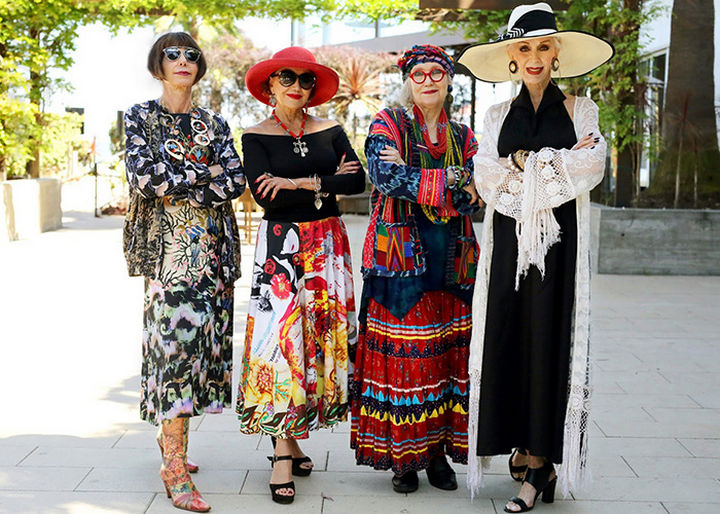 Advanced Style - Age is only a number and all these seniors look great and I'm sure they feel great too!