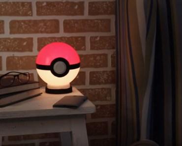 How to Make a DIY Poké Ball Night Lamp.
