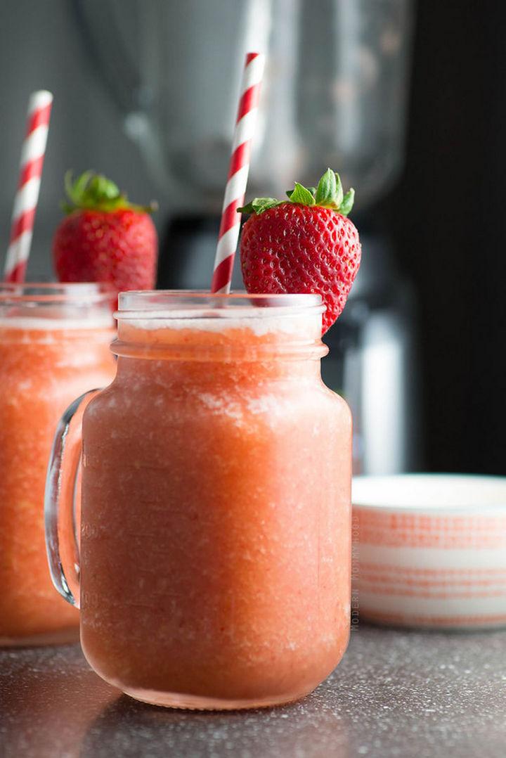 23 Wine Slushies - Summer fruit wine slush recipe.