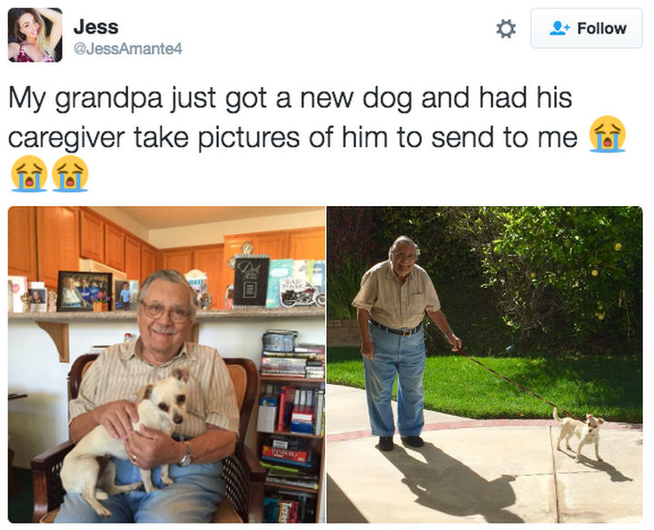 30 Happy Pictures - You're never too old for a new friend.