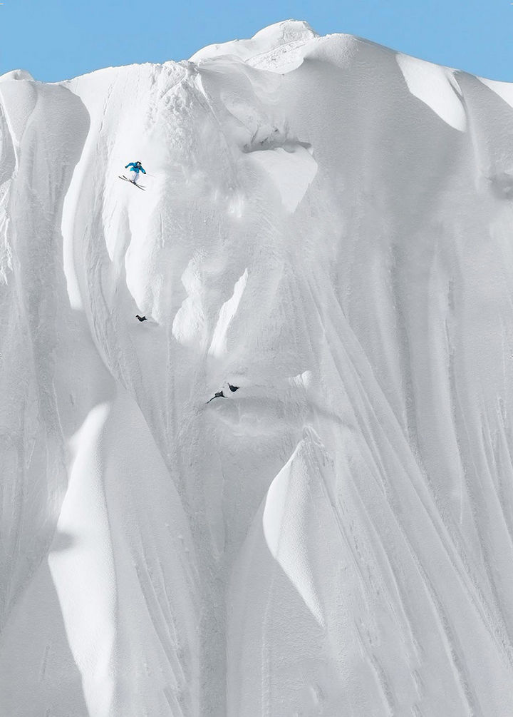 32 People Who Look Fear in the Eyes - Extreme skiing.