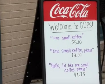 Coffee Shop Owner Is Tired of Rude Customers So He Put Up This Sign.