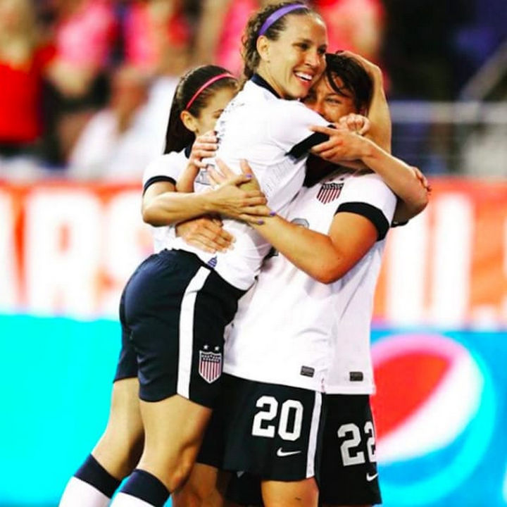 Lauren retired after USA beat Japan at the 2015 FIFA Women's World Cup and learned she was pregnant six months later.