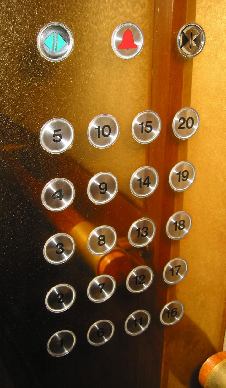 17 Self-Defense Tips - Stop at every floor in an elevator if you feel threatened.