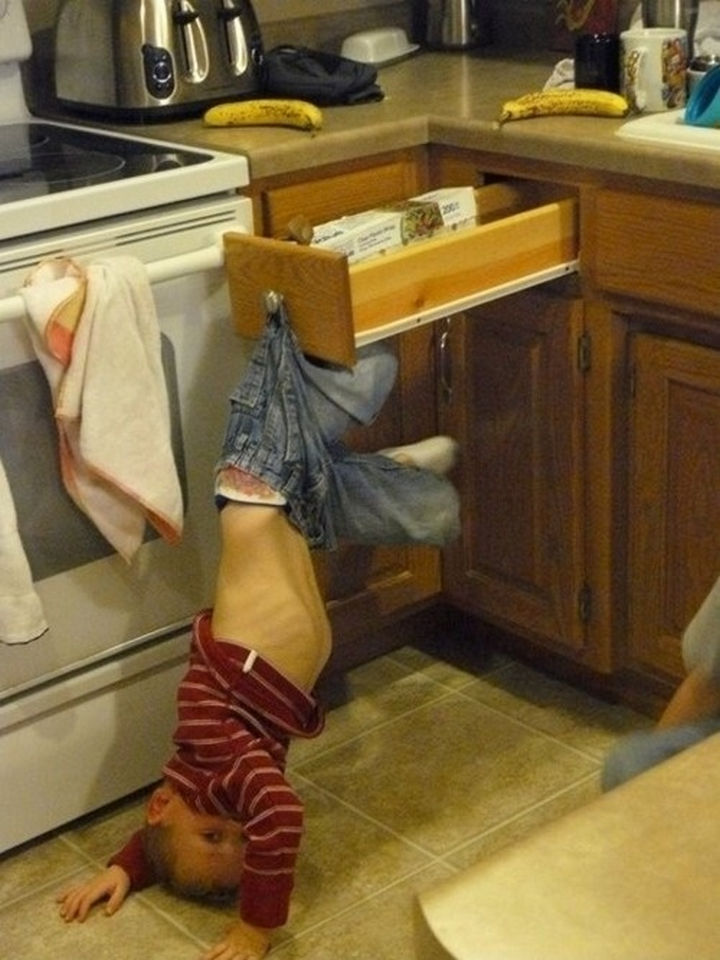 30 Reasons Why Kids Are the Worst - Did I mention they get stuck in everything?