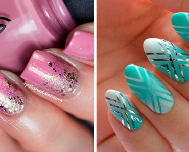 18 Reverse Gradient Nails Will Add Some Sparkle to Your Life.