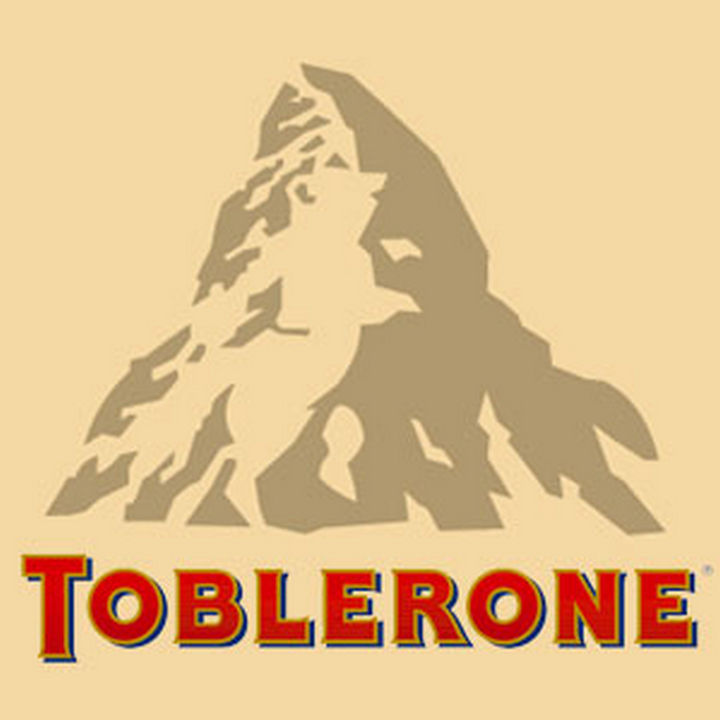 9 Funny Things You Cannot Unsee - Toblerone features a hidden bear in their logo.