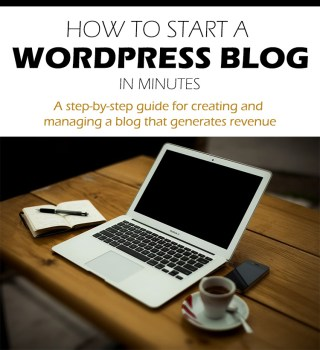 How to start a WordPress blog in minutes.