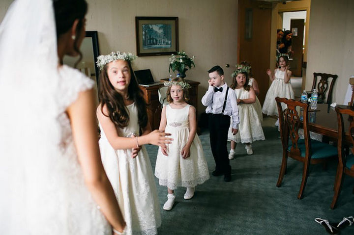 Kinsey French considers them family and couldn't share her special day without them.