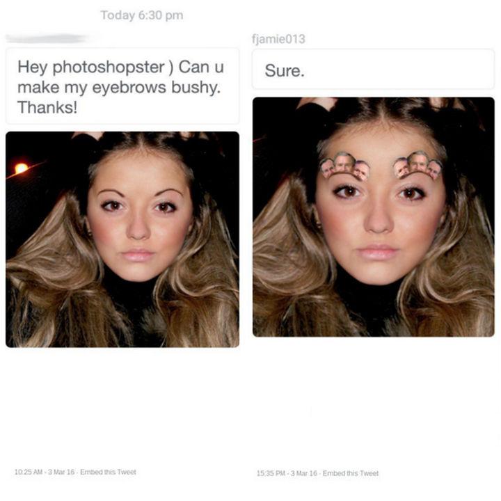 25 Funny Photoshop Trolls - How much Bush do you want?