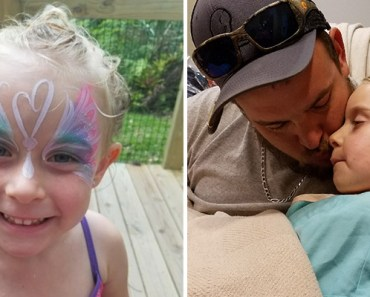 5-Year-Old Girl Diagnosed With Brain Tumor Simply Wants a Get Well Card.