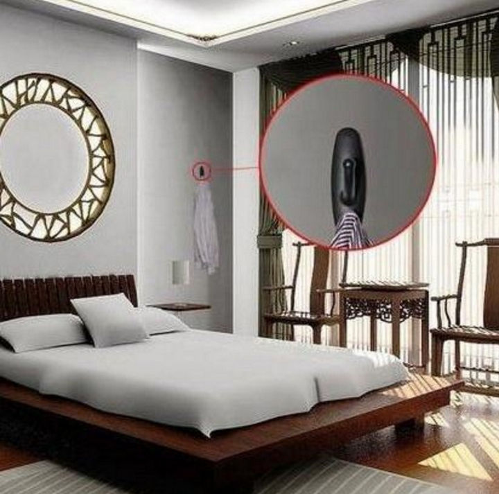 Because nobody would suspect a coat hook to contain a camera, some have also been found in hotel rooms.