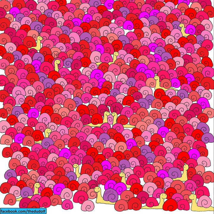 Find The Hidden Panda In This Picture Puzzle By Artist