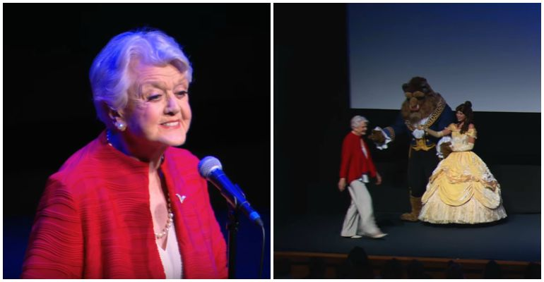 Angela Lansbury Performs Tale as Old as Time for 25th Anniversary.