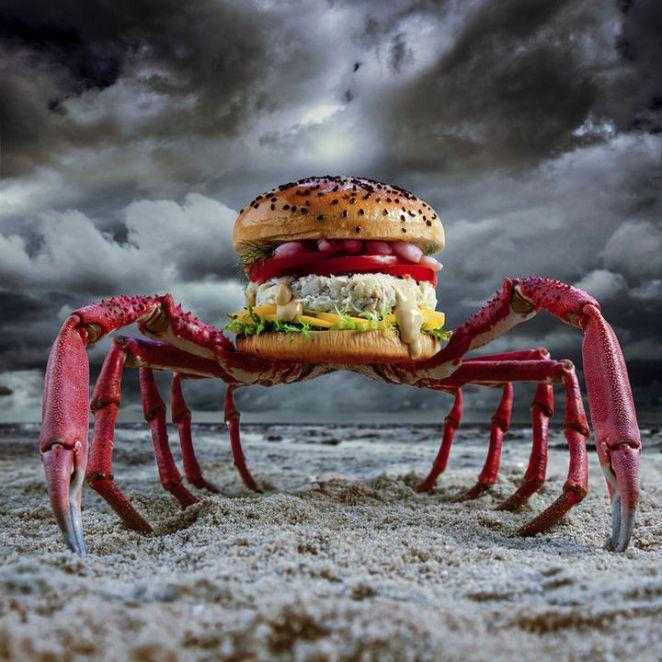 Fat andFurious Burgers - Crabzilla.