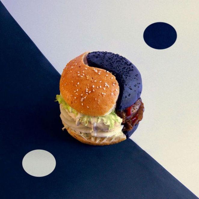 Fat andFurious Burgers - Yin & Yang.