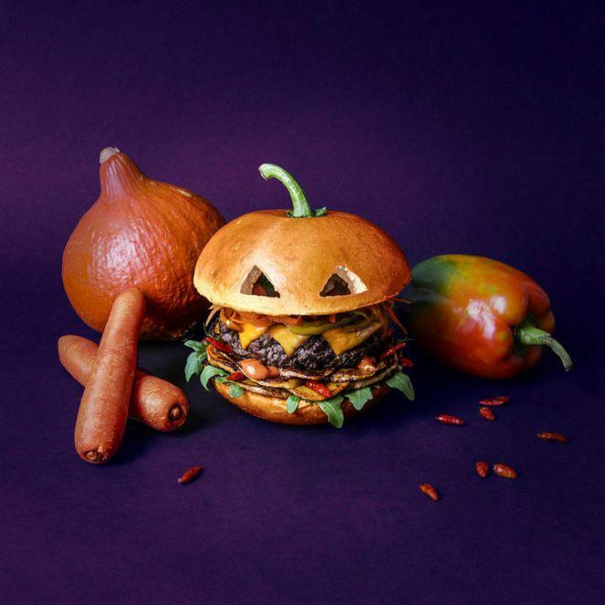 Fat andFurious Burgers - The Pumpkin Brrrrrger
