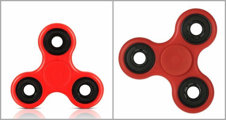 SenseValue Red Fidget Spinner.