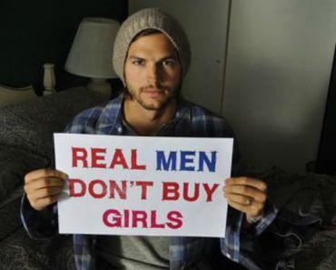 Ashton Kutcher's Organization Saves 6,000 Victims From Sex Trafficking.