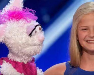 12-Year-Old Ventriloquist Darci Lynne at America's Got Talent 2017.