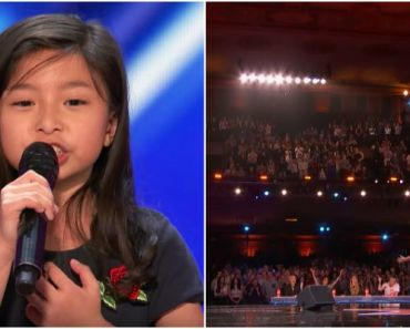 Celine Tam Performs My Heart Will Go On at AGT 2017 Auditions.