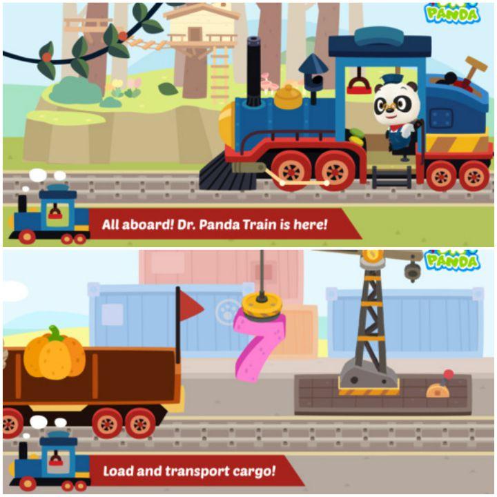 23 Kids Learning Apps - Dr. Panda Train.