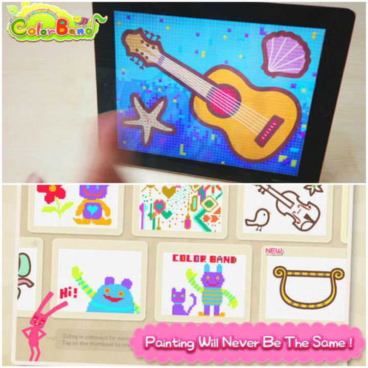 23 Kids Learning Apps - ColorBand.