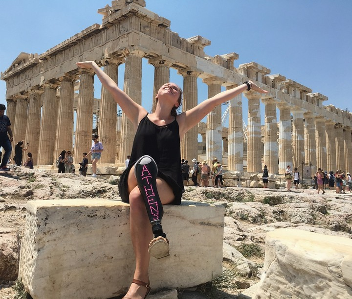Living large and loving life in Athens, Greece.