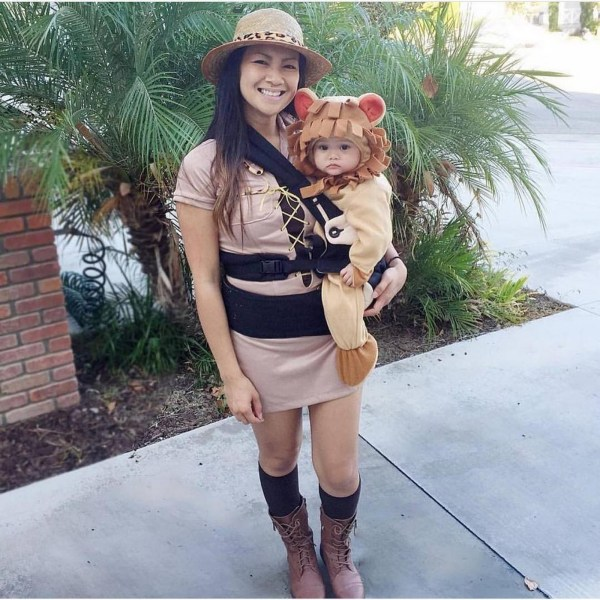 Mom and Baby Halloween Costume Ideas