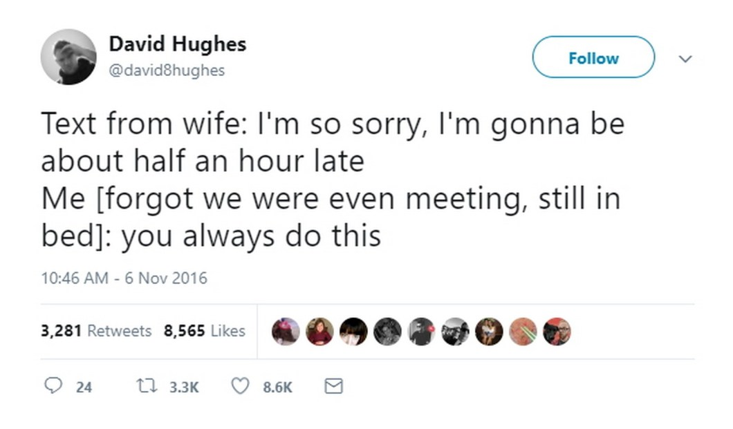 27 Best Marriage Tweets - Well played, sir, well played indeed.
