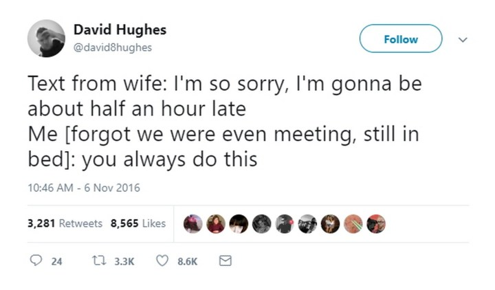 47 Best Marriage Tweets - Well played, sir, well played indeed.