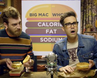Rhett and Link's Burger Showdown Big Mac VS Whopper.
