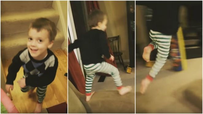 Toddler Creates Mission Impossible-style Action Scene Full of Stunts.