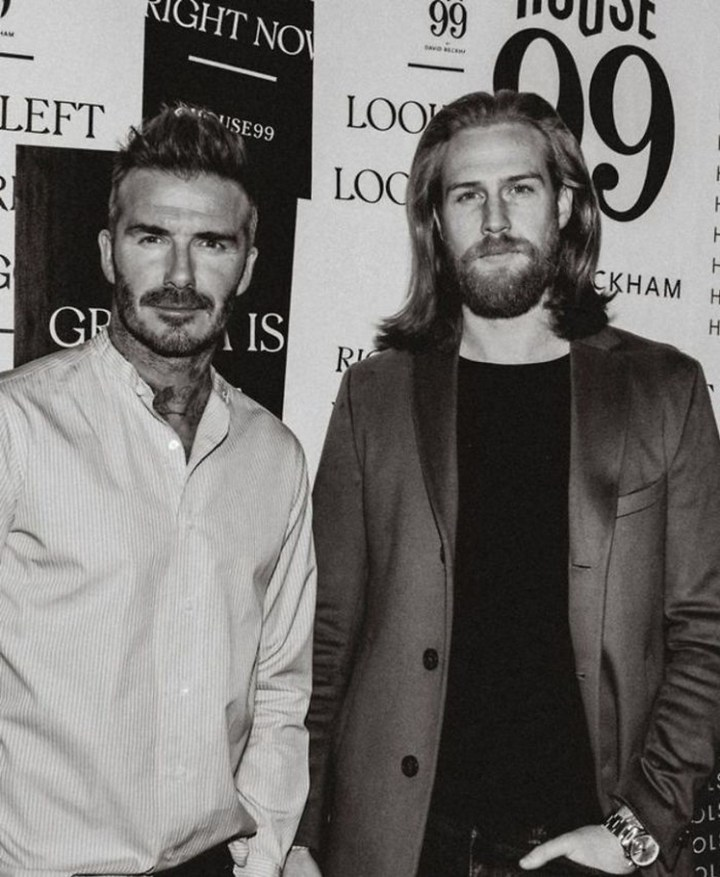 As a model, Pugh is even an ambassador for David Beckham's new male grooming line, House 99.