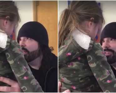 Loving Father Teaches His Daughter How to Deal with Anger Issues.