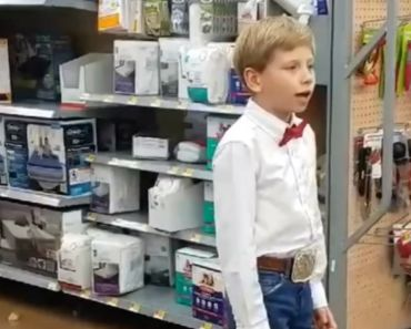 Mason Ramsey Is Walmart's 'Yodeling Kid' and His Performance Goes Viral.
